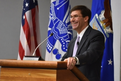 US Secretary of Defense Mark Esper.