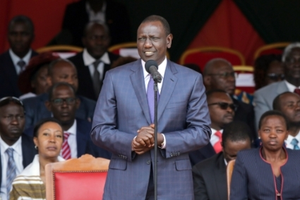 Kenya's deputy president William Ruto.