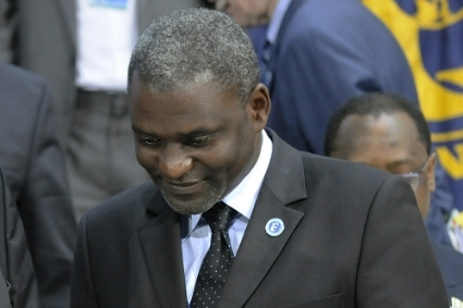 Former Gabonese Minister of the Economy Magloire Ngambia.