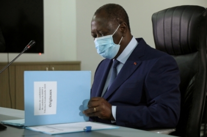 Ivorian President Alassane Ouattara is determined to run for a third term.