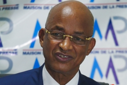 The opposition leader Cellou Dalein Diallo.