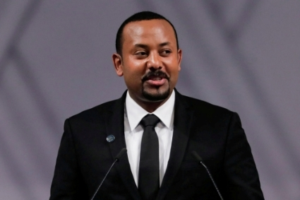 Ethiopa's Prime Minister Abiy Ahmed Ali.