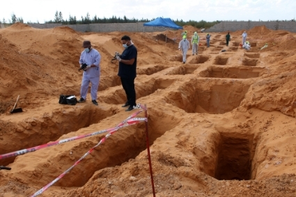 The Fact-Finding Mission in Libya (FFML) should in particular investigate the mass graves discovered in Tarhouna.