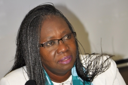 New minister of petroleum in Senegal Sophie Gladima.
