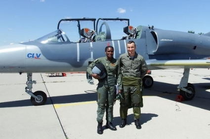 The Czech public company LOM Praha provides training for Nigerian Air Force pilots at the CLV Pardubice centre.