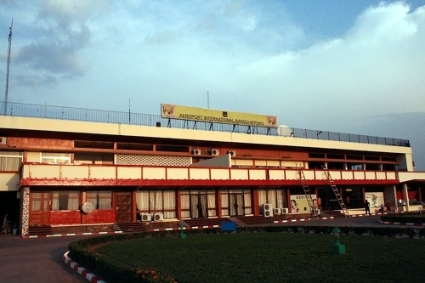 Bangui International Airport.