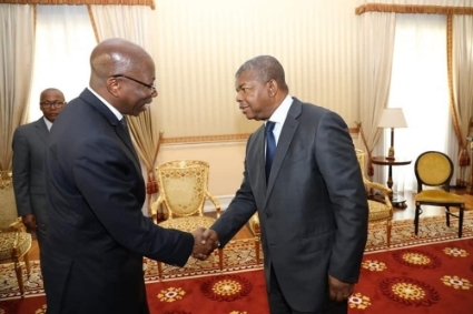 Angolan president João Lourenço received Domingos Simões Pereira - Guinea Bissau president Umaro Sissoco's main election rival - in February 2020.