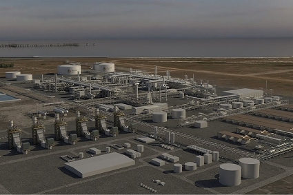 The Rovuma LNG project, in Mozambique.