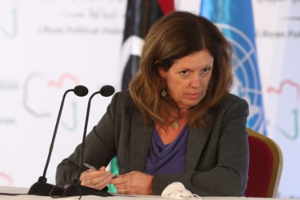 Head of UNSMIL Stephanie Williams.