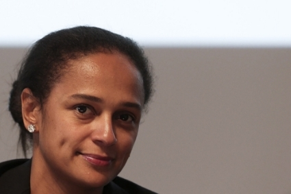 Businesswoman Isabel dos Santos.