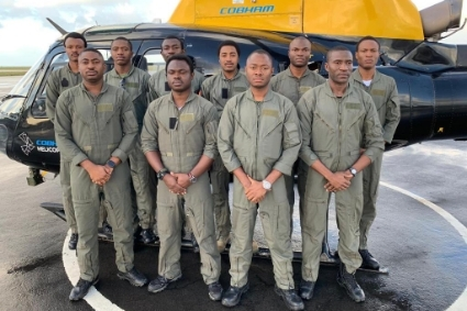 Nigerian pilots trained by Cobham Aviation Services.