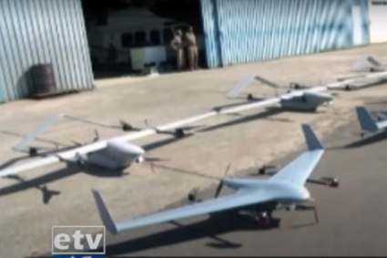 The Zerotech Chinese drones shown by the head of the Ethiopian Air Forces on Ethiopian TV.