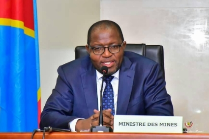 DRC Mining Minister Willy Kitobo.
