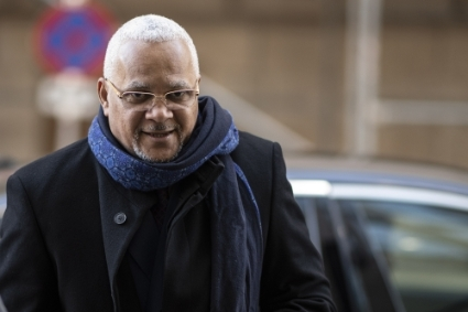Congolese hydrocarbons minister Jean-Marc Thystère Tchicaya.