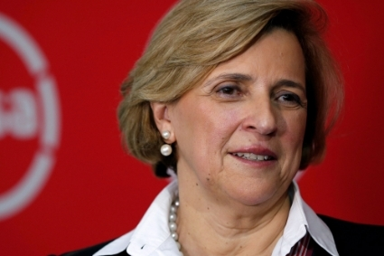 The new AngloGold Ashanti chair, Maria Ramos.