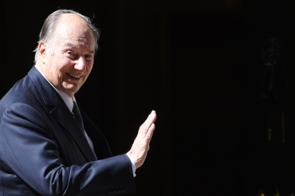 Prince Shah Karim al-Husaini, better known as the Aga Khan.