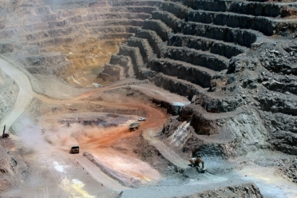 The Hassai mine (Ariab), Sudan.