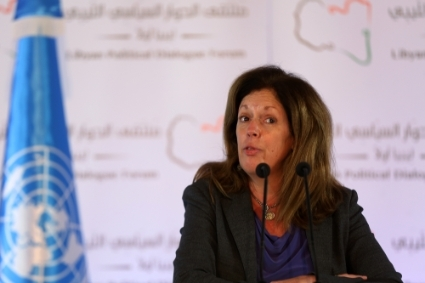 Head of the United Nations Support Mission in Libya (UNSMIL) Stephanie Williams.