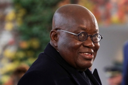 President of the Republic of Ghana Nana Akufo-Addo.