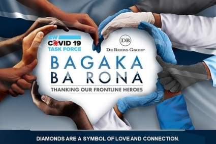 The Bagaka Ba Rona program launched by De Beers and the Government of Botswana.