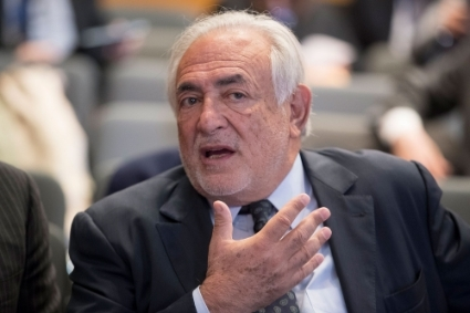 Former managing director of the International Monetary Fund (IMF) Dominique Strauss-Kahn.