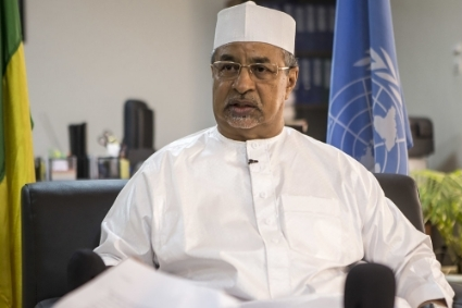 The current MINUSMA head Mahamat Saleh Annadif.