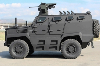 A Hizir armored vehicle.