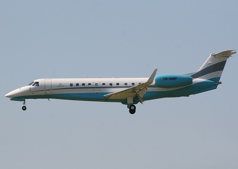 Embraer Legacy 600, one of Dalia air's three aircraft.