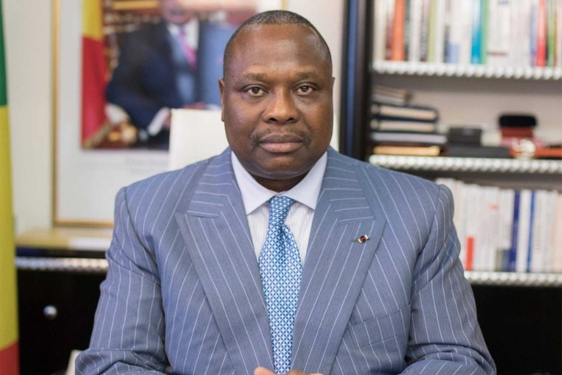 Major works minister Jean-Jacques Bouya.