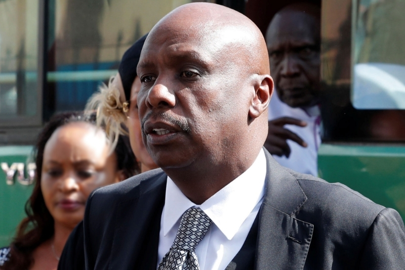 Gideon Moi, the senator from Baringo and the son of ex-president Daniel Arap Moi.
