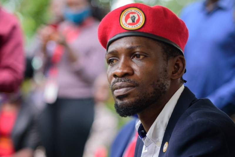 Ugandan opposition leader Robert Kyagulanyi Ssentamu, better known as Bobi Wine.