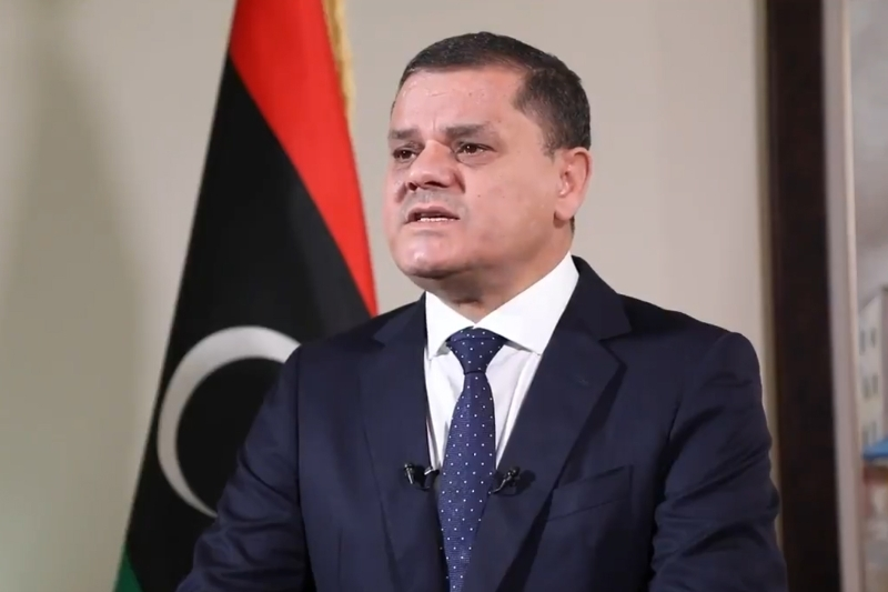 Prime Minister of the Libyan Government od National Unity Abdelhamid Dabaiba.