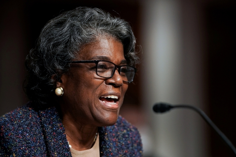 The new US ambassador to the United Nations, Linda Thomas-Greenfield.