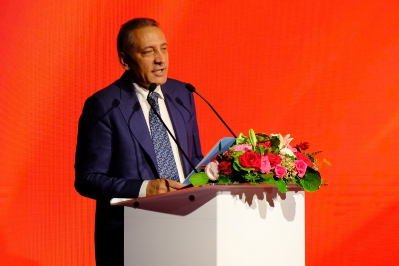 The Moroccan Minister of Trade and Industry Moulay Hafid Elalamy.