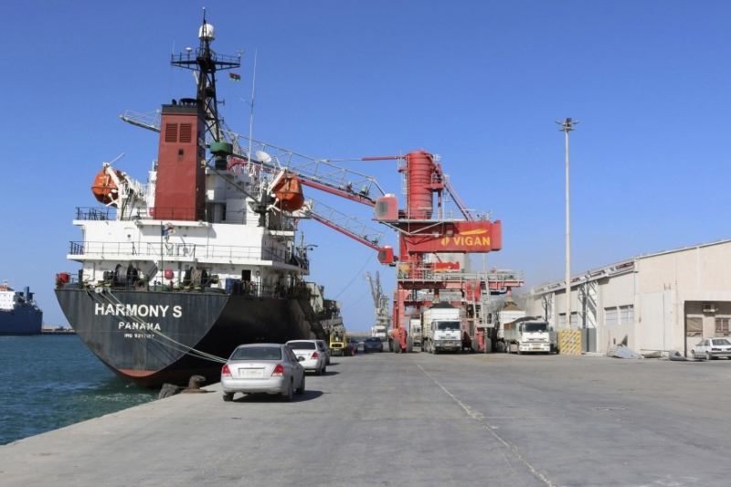 The Misrata port is largely autonomous of the Tripoli government thanks to its status as a free zone.