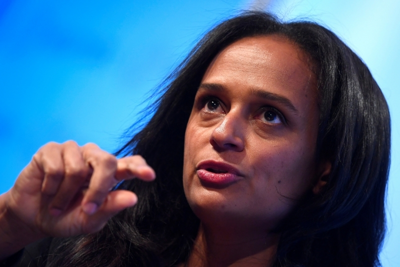 Isabel dos Santos is the eldest daughter of former Angolan President Jose Eduardo dos Santos, who ruled the country from 1979 to 2017.