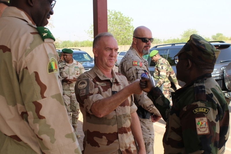 General Pascal Facon, current commander of Operation Barkhane.