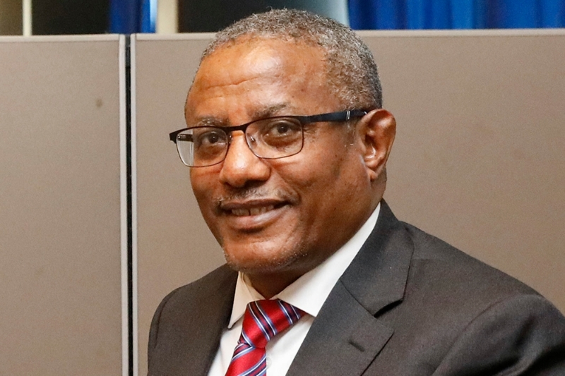 Ethiopian foreign affairs minister Gedu Andargachew.
