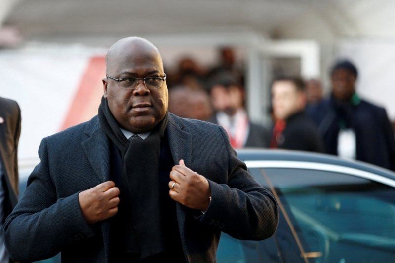 President of the Democratic Republic of Congo, Félix Tshisekedi.