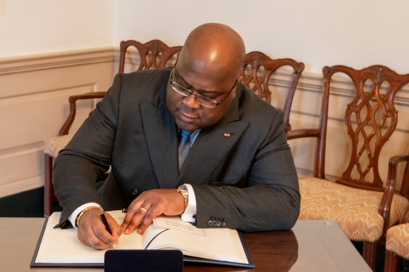 DRC President Felix Tshisekedi keeps a close watch on the Dig Oil arbitration settlement.