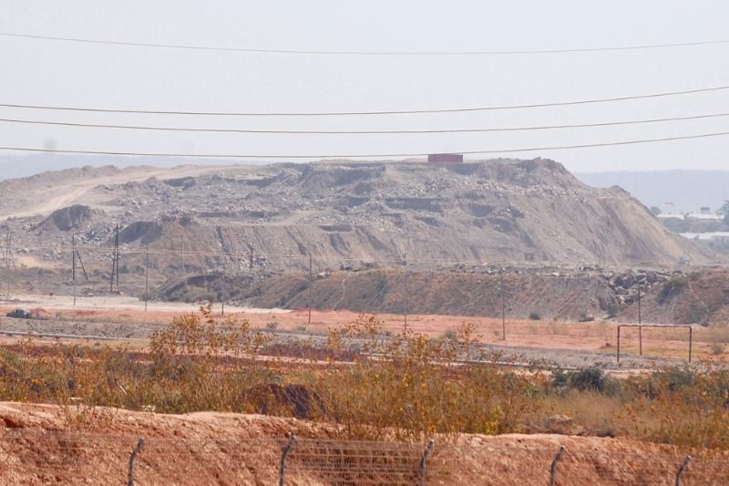 A copper and cobalt mine operated by Sicomines in the DRC.
