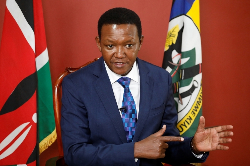 Alfred Mutua, Governor of Machakos County.