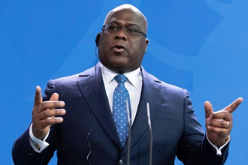 President of the Democratic Republic of Congo Felix Tshisekedi.