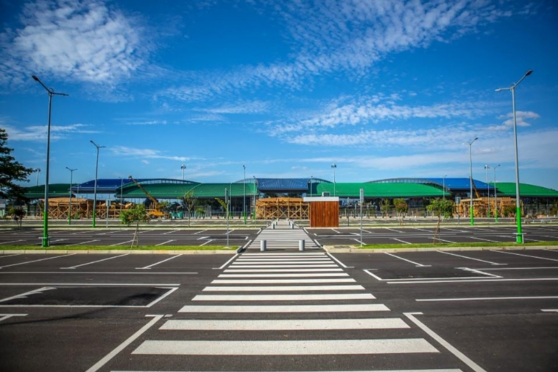 The new international terminal in Ivato, November 2019.