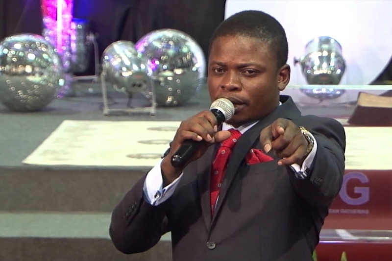 Pastor Shepherd Bushiri, founder of Enlightened Christian Gathering Church.