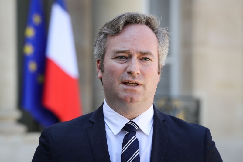 French minister of state Jean-Baptiste Lemoyne.
