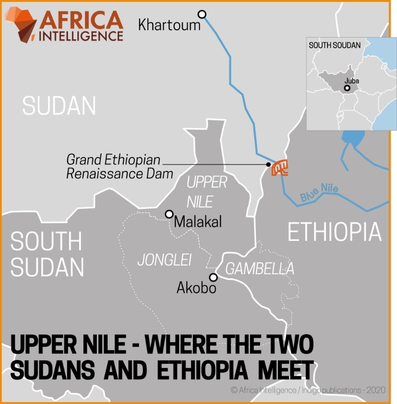 Upper Nile - Where the two Sudans and Ethiopia meet.