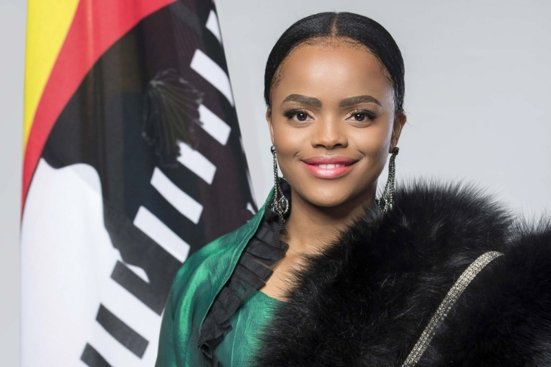 Princess Sikhanyiso Dlamini, eldest daughter of King of Eswatini and Minister of Information.