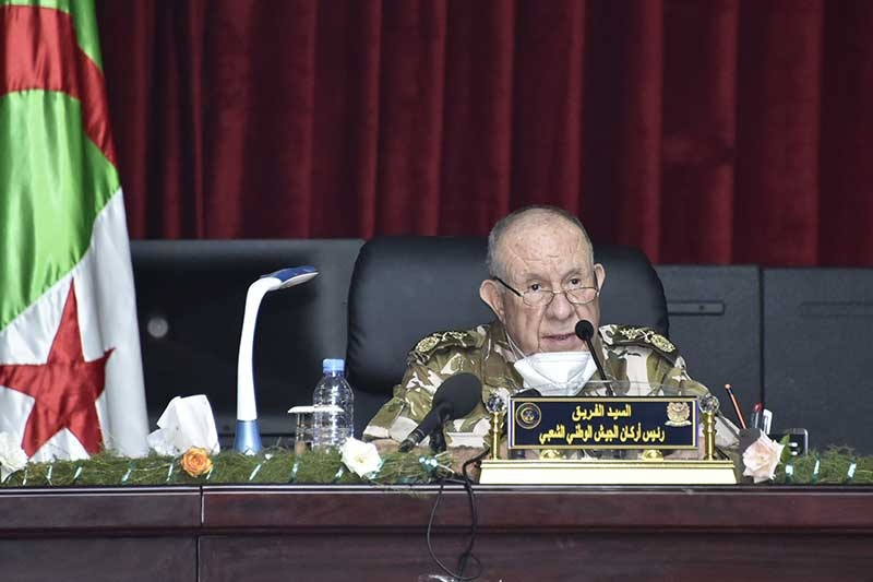 Major General Said Chengriha, Algerian National People's Army chief of staff.