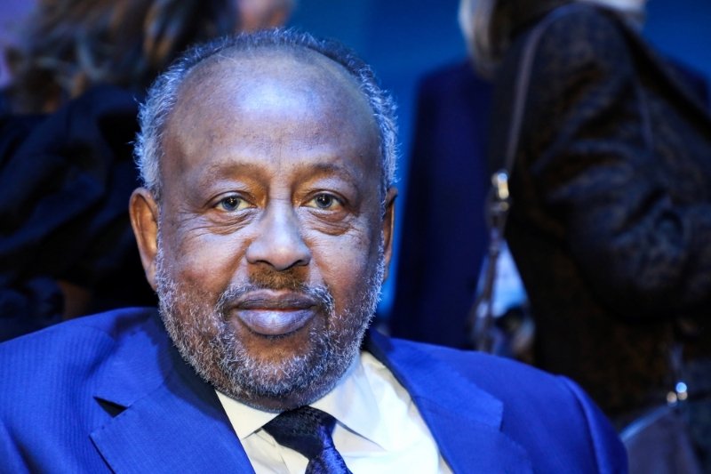 Djibouti's President Ismail Omar Guelleh.